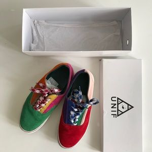UNIF Corbin Rainbow Sneakers